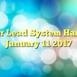 Power Lead System Hangout January 11 2017