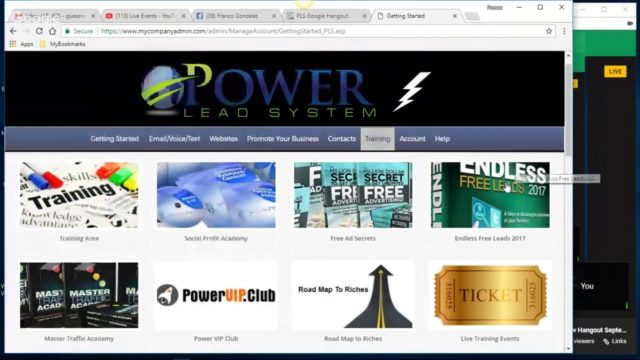 Power Lead System Hangout September 20 2017