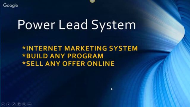 Power Lead System Overview Hangout February 22 2017