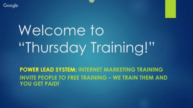 Training FASTEST WAY TO MAKE MONEY with Power Lead System